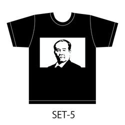 渋沢栄一Tシャツ限定品川本山陽堂デザイン